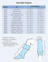 Brownmed SEAL-TIGHT Original Cast and Bandage Protector, Arm