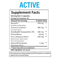Fenix Nutrition Active - Anti Inflammatory Supplement
