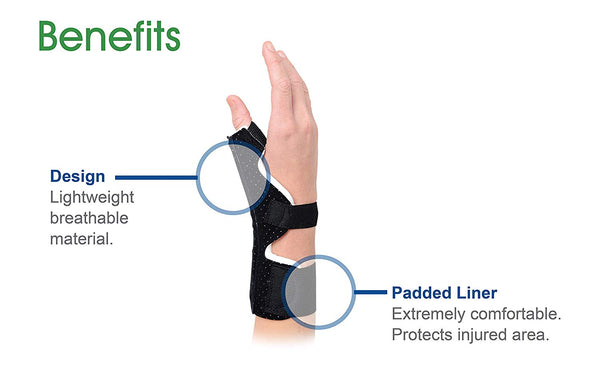 Advanced Ortho Premium Thumb Brace Universal - Left or Right