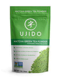 Ujido Japanese Matcha Green Tea Powder - 16 oz.