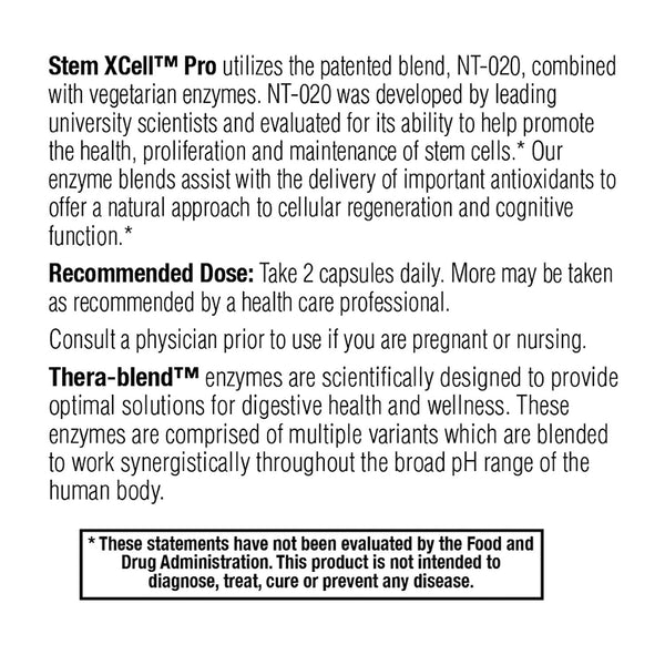 Enzyme Science - Stem XCell Pro, Antioxidant Support