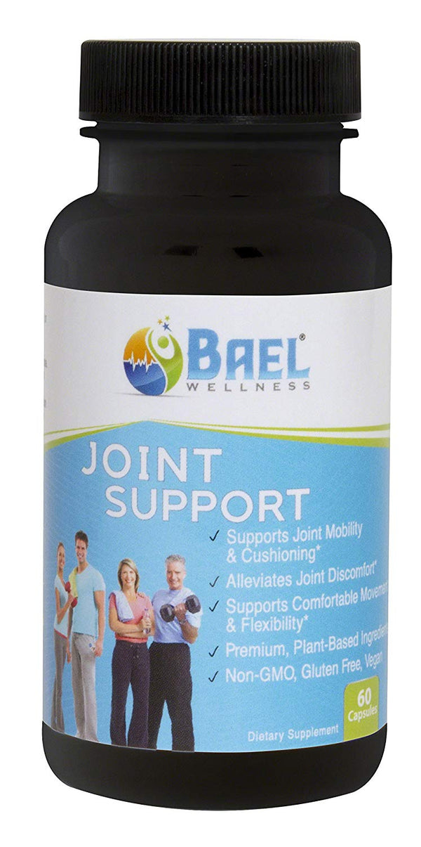 Joint Pain Relief Supplement - Plant Based Glucosamine - 100% Vegan - 60 Capsules