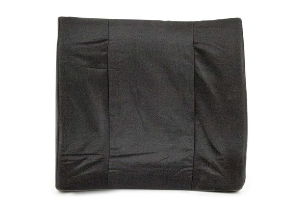 "BodyMed® 13"" x 14"" Lumbar Support Back Cushion, Black"