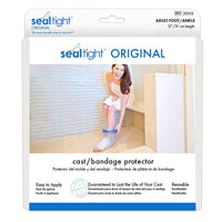Seal Tight Original Cast and Bandage Protector, Best Watertight Protection, Adult Foot and Ankle