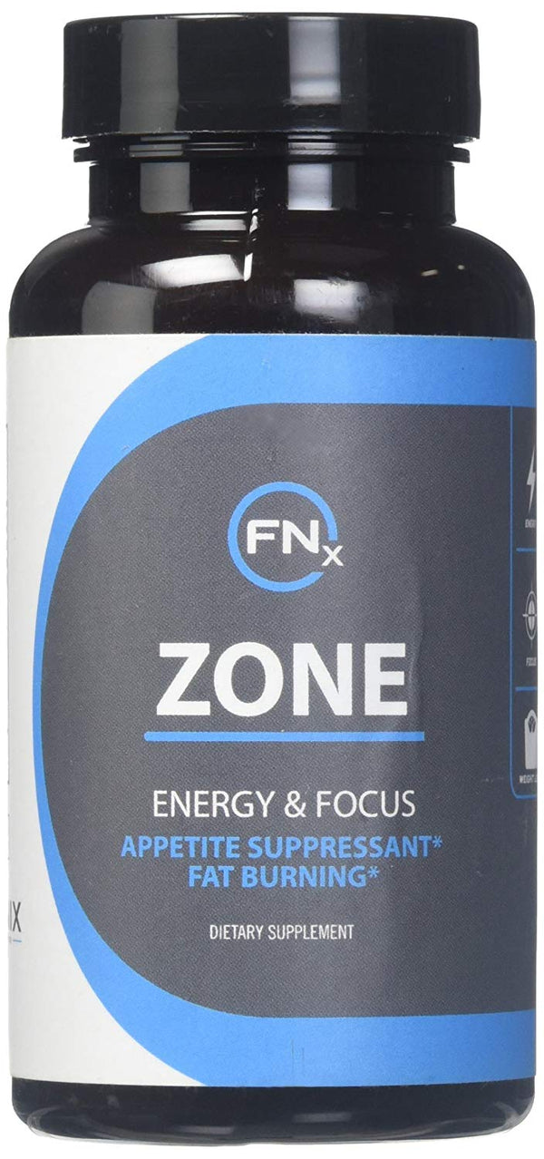Fenix Nutrition Zone - Appetite Suppressant, Fat burning, Speeds weight loss, Improves overall health, Shrinks belly fat, Increased energy and focus, Dietary supplement, 60 weight loss pills.