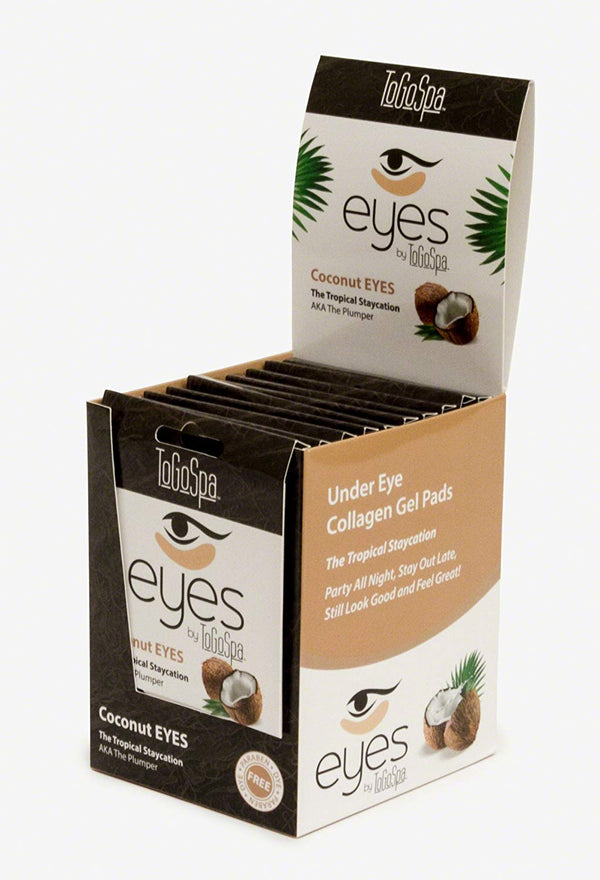 Coconut Eyes - 10 packs - 30 Pair