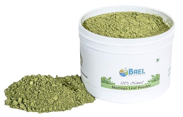 Natural & Organic Moringa (Oleifera) Leaf Powder Extra Strength Multi Vitamins, Energy Booster, Balances Hormones, Potent Antioxidant. Naturally Processed, Sun Dried. Great Mixture for Smoothies, 1lb