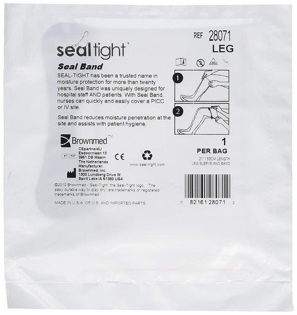 Brownmed Disposable Tight Seal Band for Leg, 50 Count