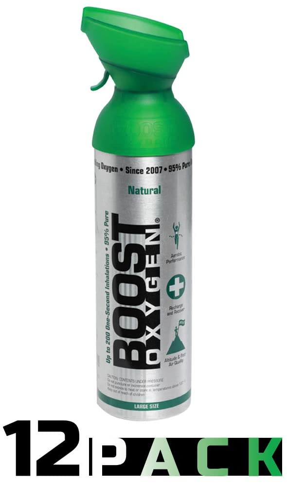 Boost Oxygen Supplement Canister, Choice of Flavor & Size