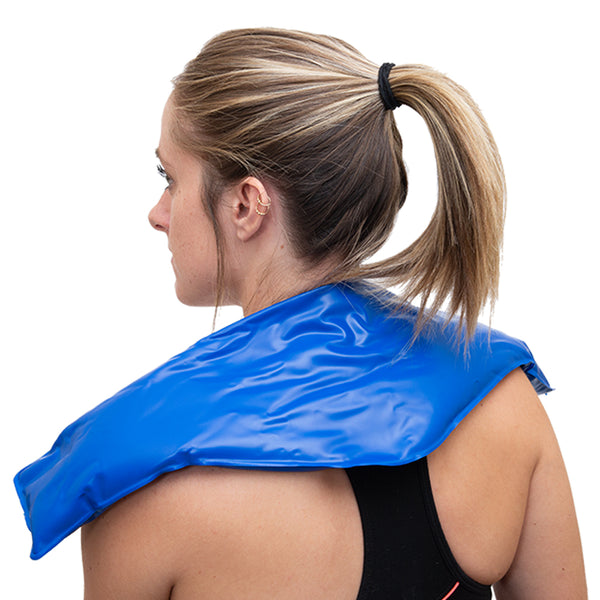 BodyMed Cold Pack Contour on Neck of Woman