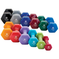 Body Sport® Vinyl Dumbbells