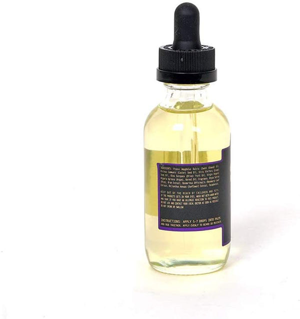 Hammer & Nails Black Code Beard Oil 2 oz. (60 mL) Beard Treatment Oil to Promote Hair Growth All-Natural Essential Oils