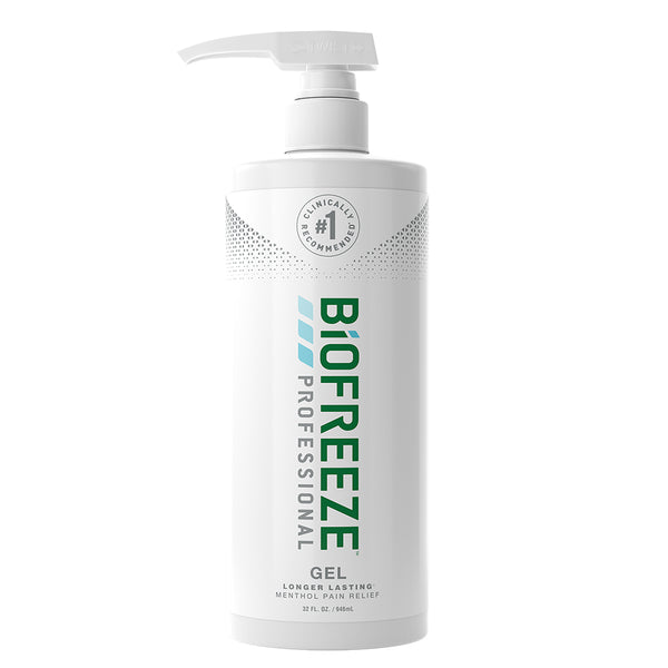 Biofreeze® Professional Pain Relieving Gel - 32 oz. Gel Pump - Green