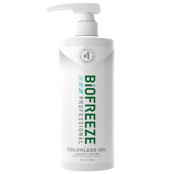 Biofreeze® Professional Pain Relieving Gel - 32 oz. Gel Pump - Colorless