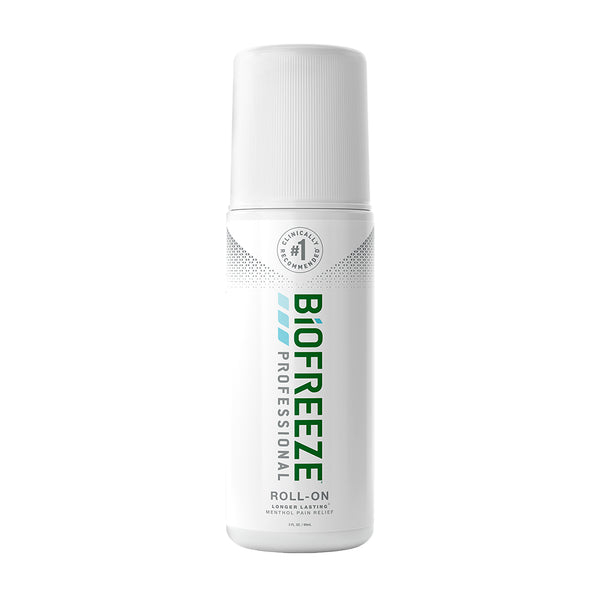 Biofreeze® Professional Pain Relieving Roll-On- 3 oz. - Colorless