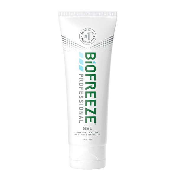 Biofreeze® Professional Pain Relieving Gel - 4 oz. Tube - Colorless