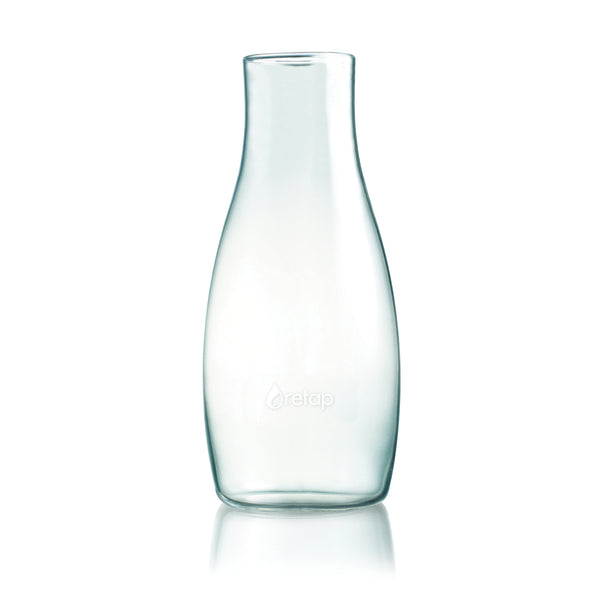 Retap Carafe Eco-Friendly Refillable BPA Free Borosilicate Glass Bottle, 1.2 Litres