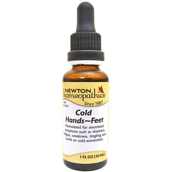 Newton Homeopathics Cold Hands & Feet Remedy - Liquid 1 fl. oz. (30mL)