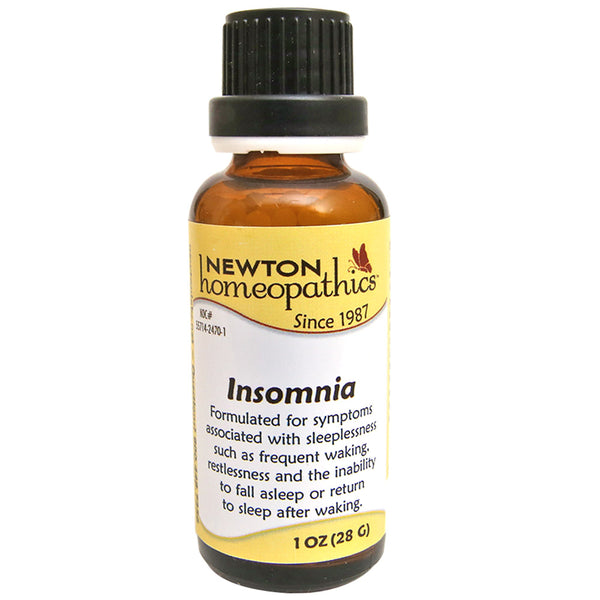 Newton Homeopathics Insomnia Remedy - Pellets 1 oz. (28g)