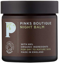 Pinks Boutique Night Balm 1.8 oz. (50 g) – Moisturizing Night Cream – Dry Skin Face Cream