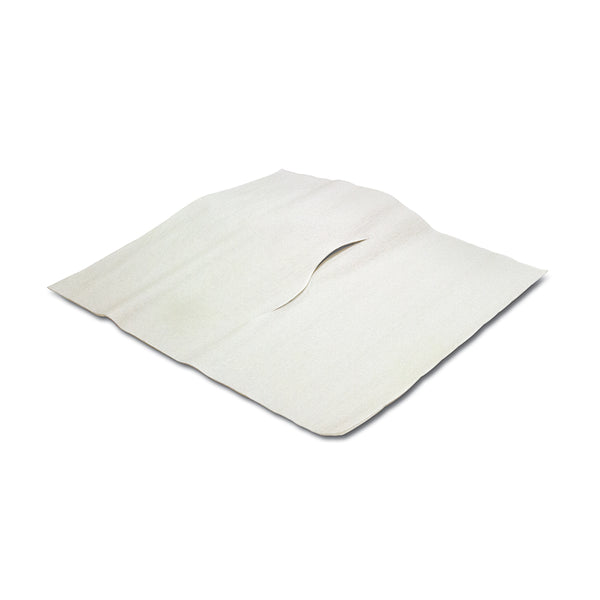 "Headrest Paper Tissue Sheets - Slotted - 12""x12"" 1000 Per Box"