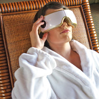 Eye Massager Relieves Stress and Headaches