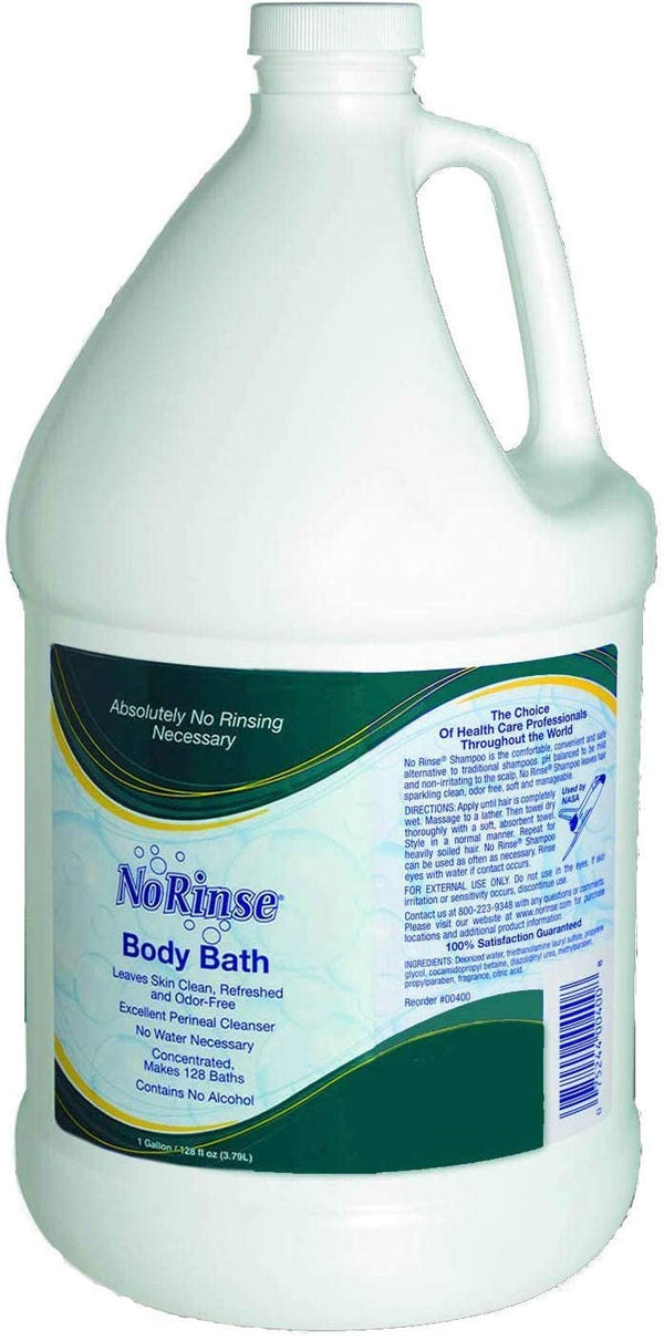 No-Rinse Body Bath, 1 Gallon
