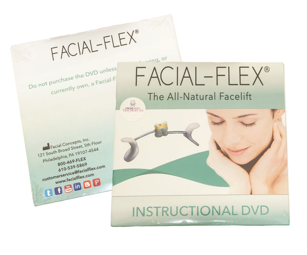 Facial-Flex Instructional DVD With Step-By-Step Instructions