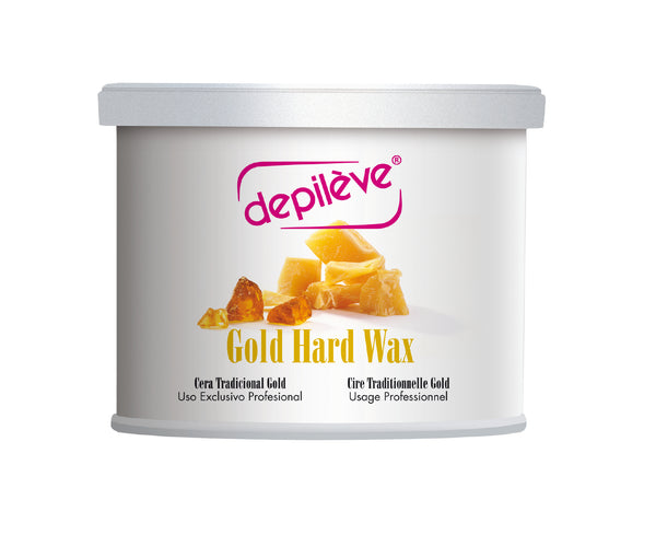 Depileve Gold Hard Wax for Hair Removal - Stripless Wax