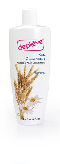Depileve Oil Cleanser - Water Soluble Azulene Oil - Post Waxing Massage Oil