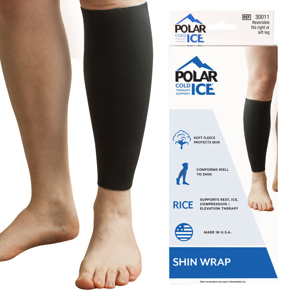 Polar Ice Shin Wrap – Ice Pack Wrap for Shin Splints