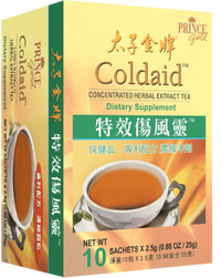 Prince of Peace Coldaid™, 10 Sachets – Concentrated Herbal Extract Tea