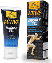 TIGER BALM Active Muscle Gel, 2 oz.