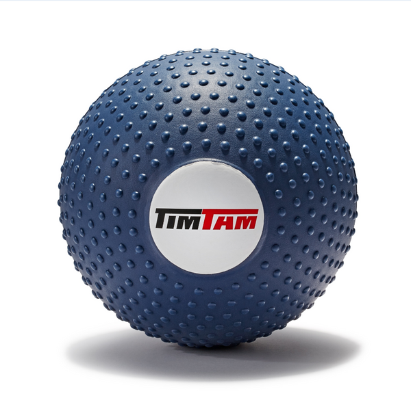 "TimTam Spiked Massage Therapy Ball, 6"" Black"