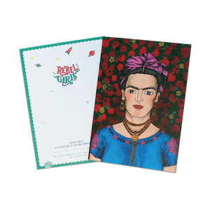 Rebel Girls Greeting Cards - Frida Kahlo