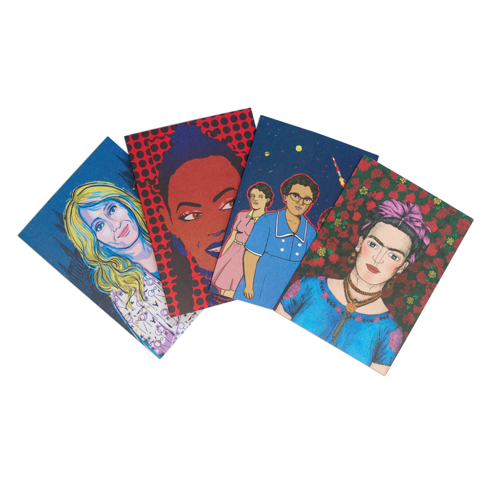 Rebel Girls Greeting Cards