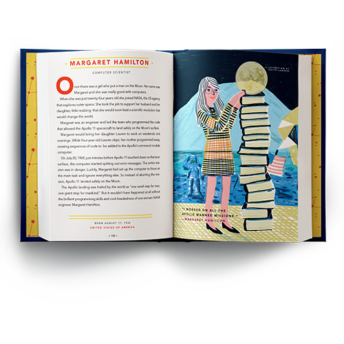 Good Night Stories for Rebel Girls Book - Margret Hamilton