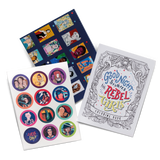Rebel Pack - Coloring book, temporary tattoo pack and poster