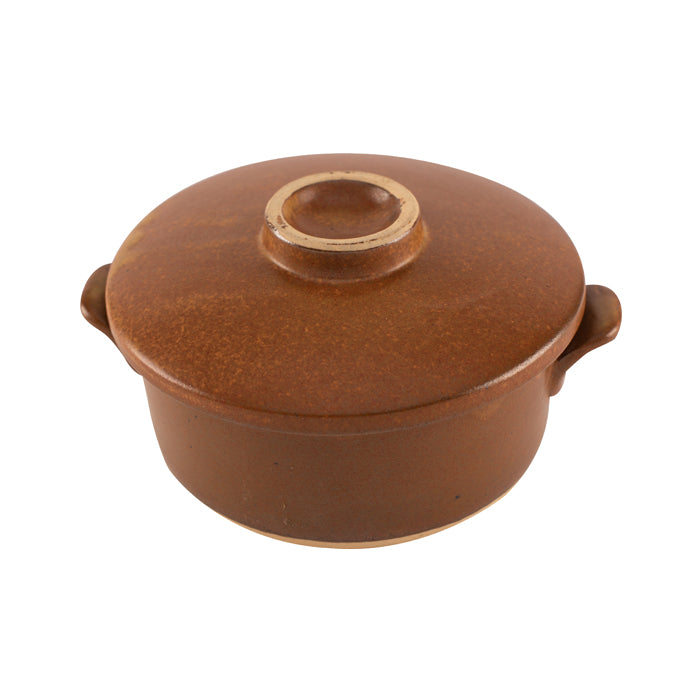 Brown Ceramic Pot
