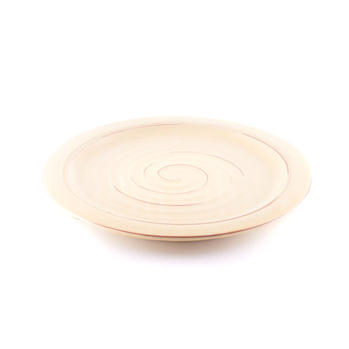 Beige Organic Shaped Platter