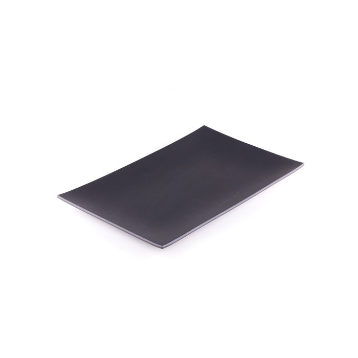 Black Rectangular Platter