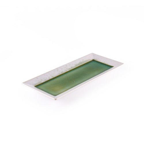 Green Rectangular Serving Platter
