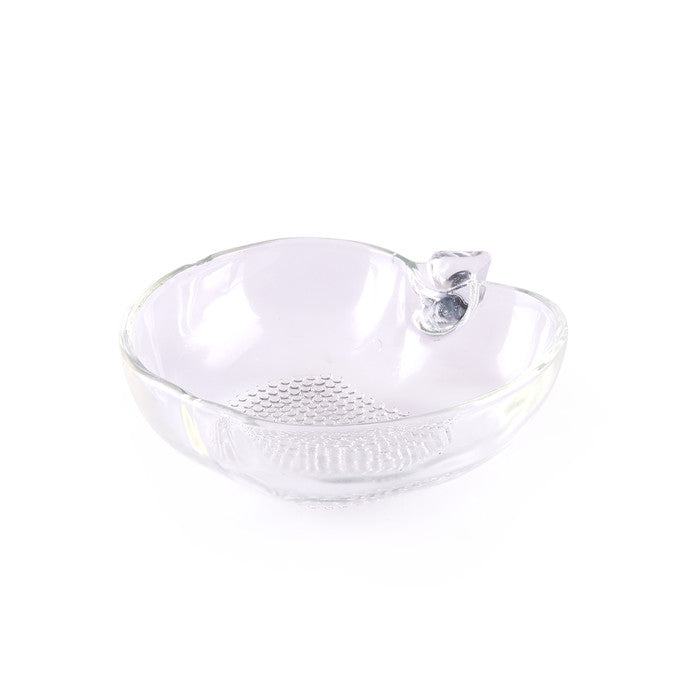 Apple Shaped Glass Ingredient Dish