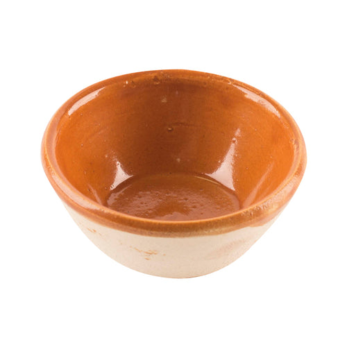 Brown Clay Ingredient Bowl