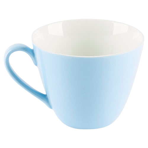 Blue Cup with White Interior