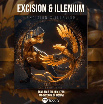Excision and ILLENIUM's new collaboration is what bass-lover's dreams are made of