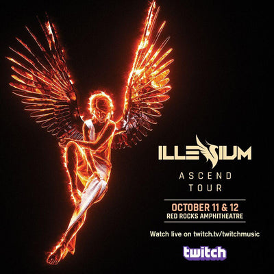 Red Rocks Live Stream Exclusively on Twitch