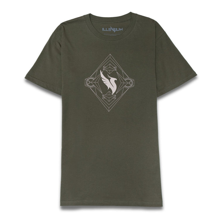 Army Green Tee T-shirt Illenium
