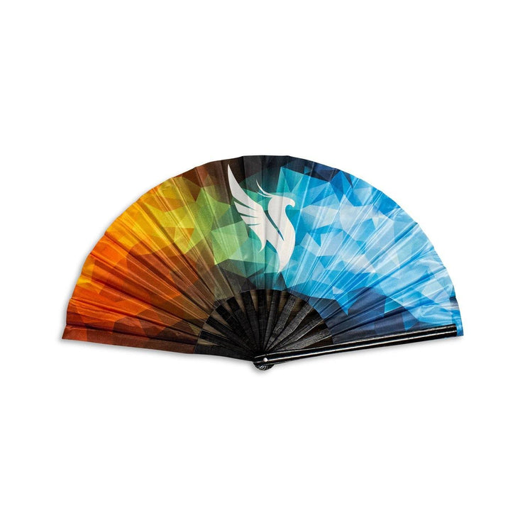 Fire/Ice Hand Fan Hand Fan Illenium