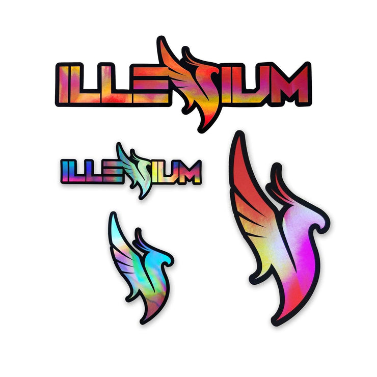 Holographic Sticker Pack Sticker Pack Illenium